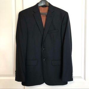 Jos. A. Bank Classic Navy Wool Blazer 38R
